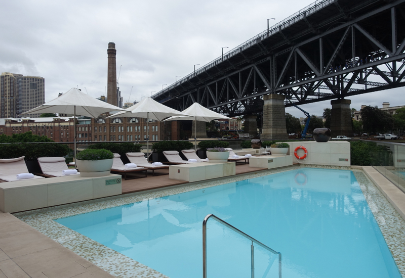 Rooftop Pool, Park Hyatt Sydney Review