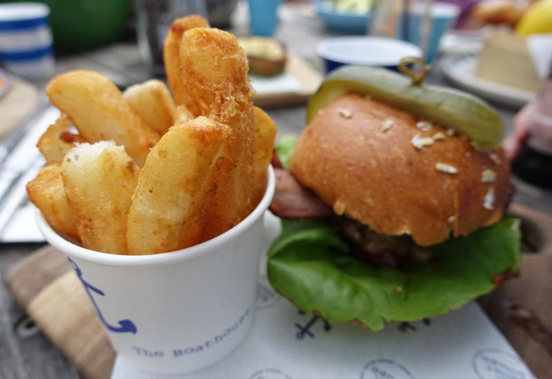 Burger, The Boathouse Palm Beach Review, Australia