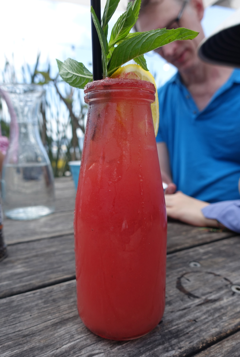 Fresh Squeezed Watermelon Juice, The Boathouse Palm Beach Australia
