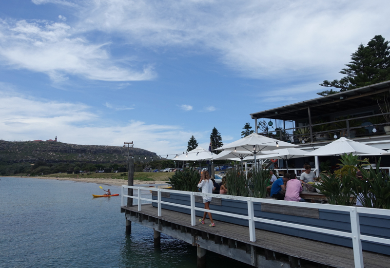 Outdoor Seating at The Boathouse Palm Beach Australia