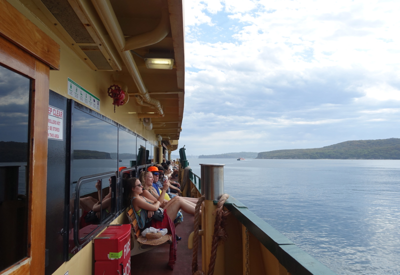 Manly Ferry Review: Outdoor Seating