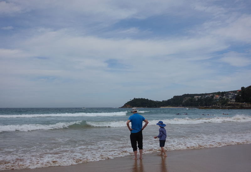 Manly Beach Review: View