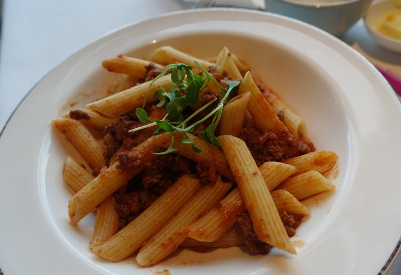 Kids' Penne Pasta with Meat Sauce, Park Hyatt Sydney Review