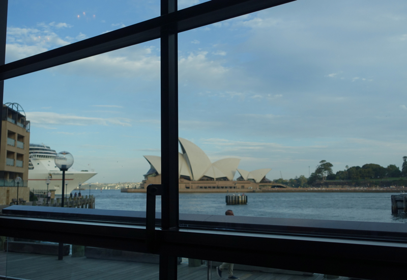 View of Sydney Opera House from Park Hyatt Sydney Restaurant