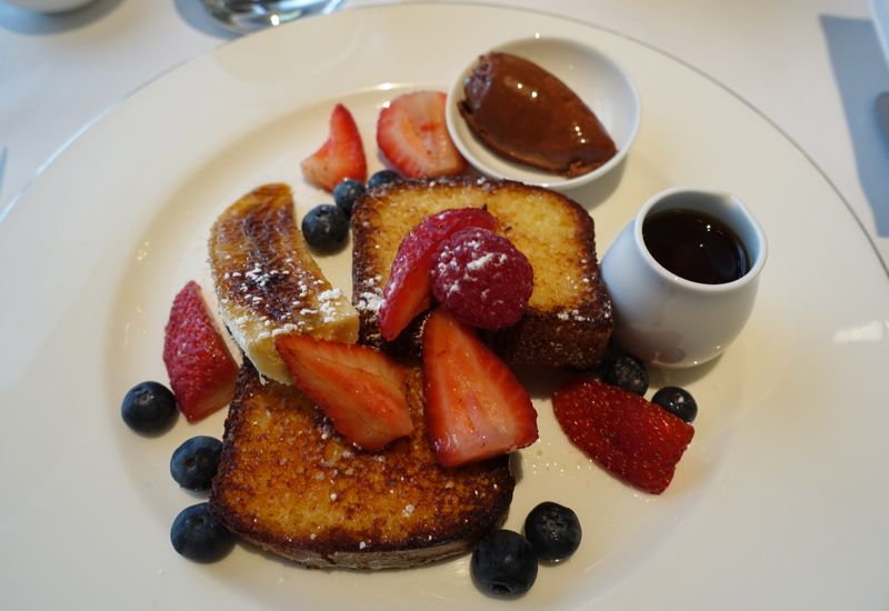 Brioche French Toast, The Dining Room, Park Hyatt Sydney Review
