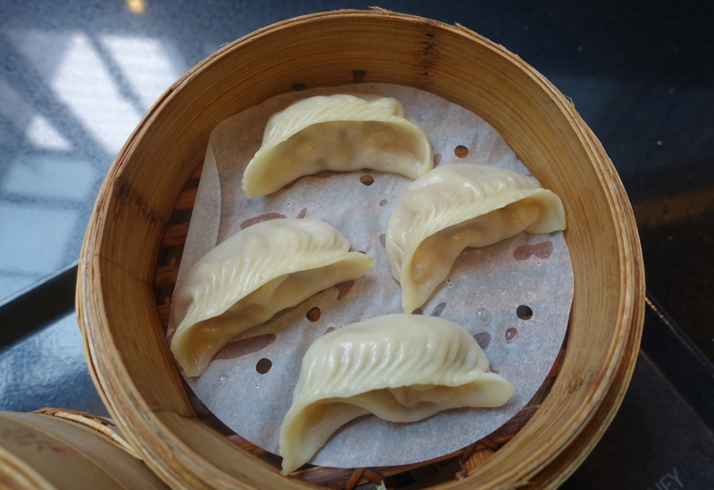 Steamed Shrimp and Pork Dumplings, Din Tai Fung Sydney Review
