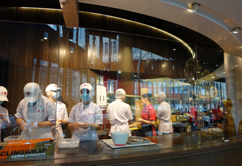 Din Tai Fung Sydney Review: Dumplings Made in Open Kitchen