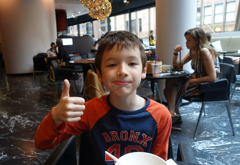 Thumbs Up at Din Tai Fung, Sydney Review