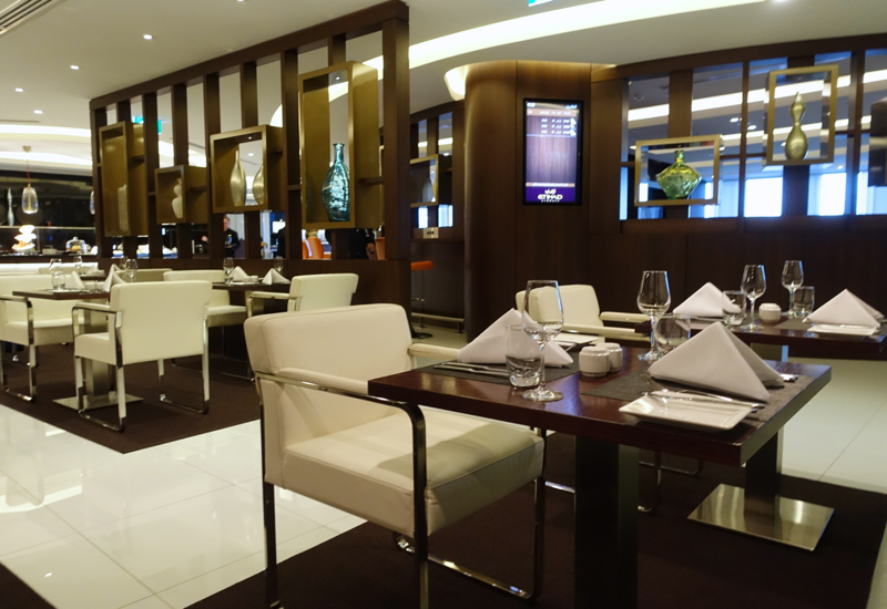 Review: Etihad First and Business Class Lounge Sydney