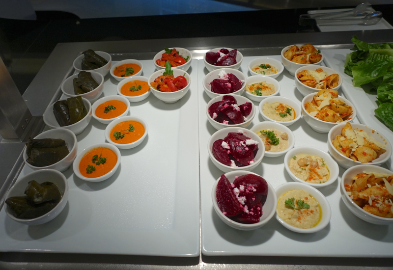 Review: Etihad Sydney Lounge Appetizers