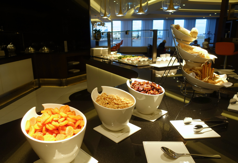 Dried Apricots and Nuts, Etihad Lounge, Sydney Review
