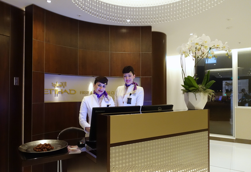 Review: Etihad Sydney Lounge Reception