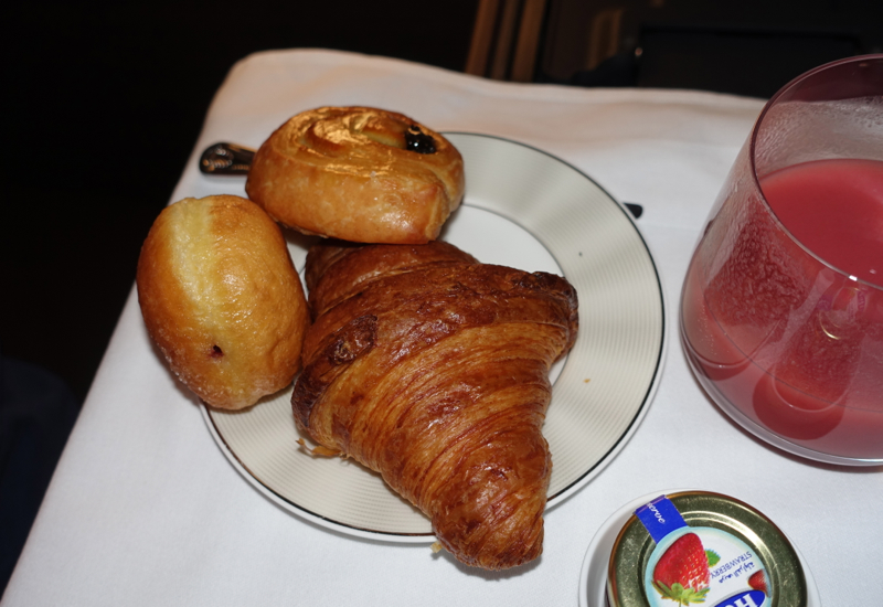 Breakfast Pastries, Etihad First Apartment Review