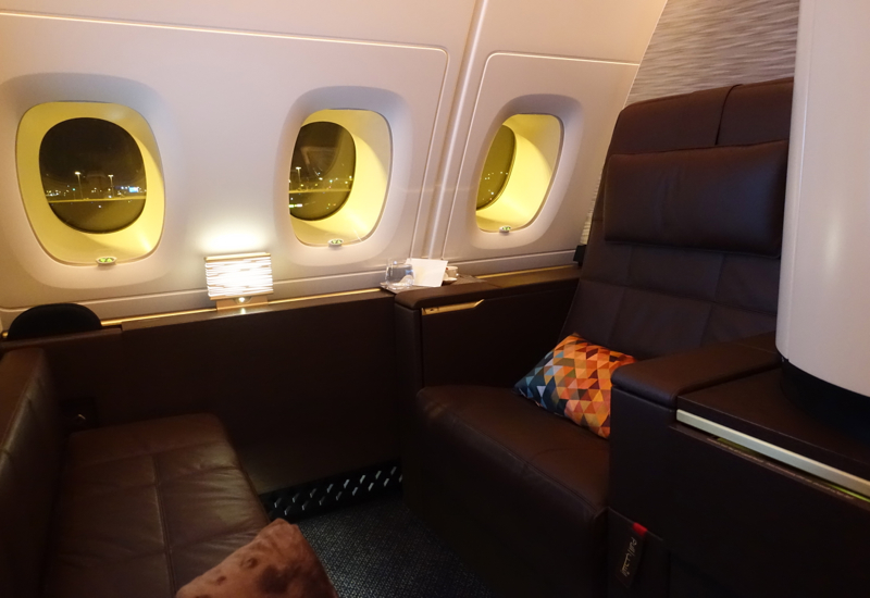 Apartment 4K, Etihad A380 First Apartment Review