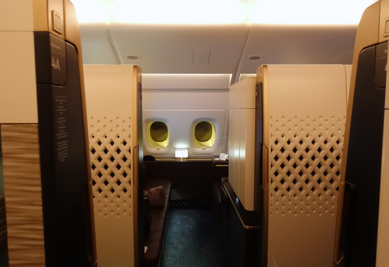 Review: Etihad A380 First Apartment Sydney to Abu Dhabi