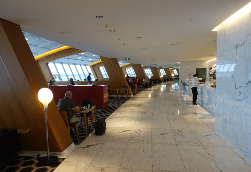 Review: Qantas First Class Lounge Sydney