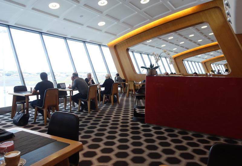 Qantas First Class Lounge Sydney Review