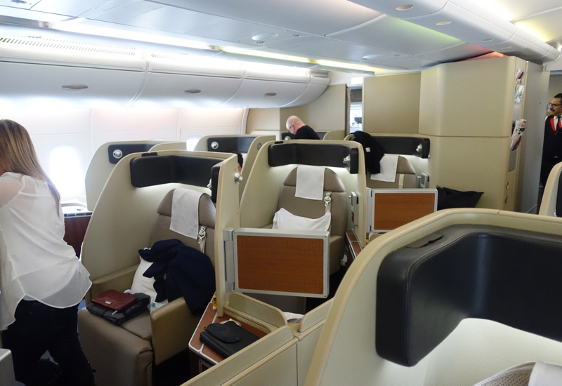 Review: Qantas A380 First Class Cabin, A380