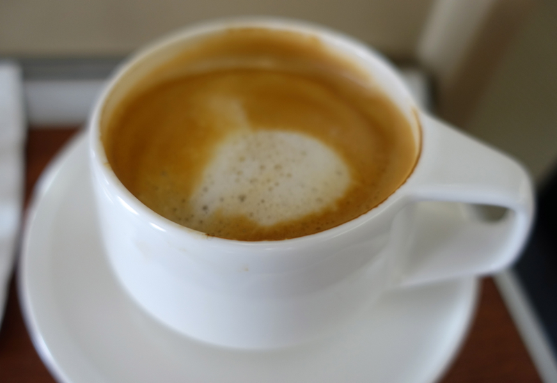 Latte, Qantas A380 First Class Review