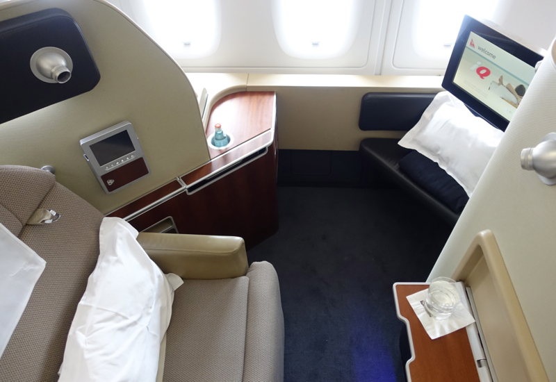 Review: Qantas First Class A380 Sydney to Los Angeles