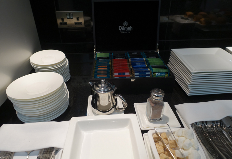 Dilmah Tea, Etihad Arrivals Lounge Abu Dhabi Review