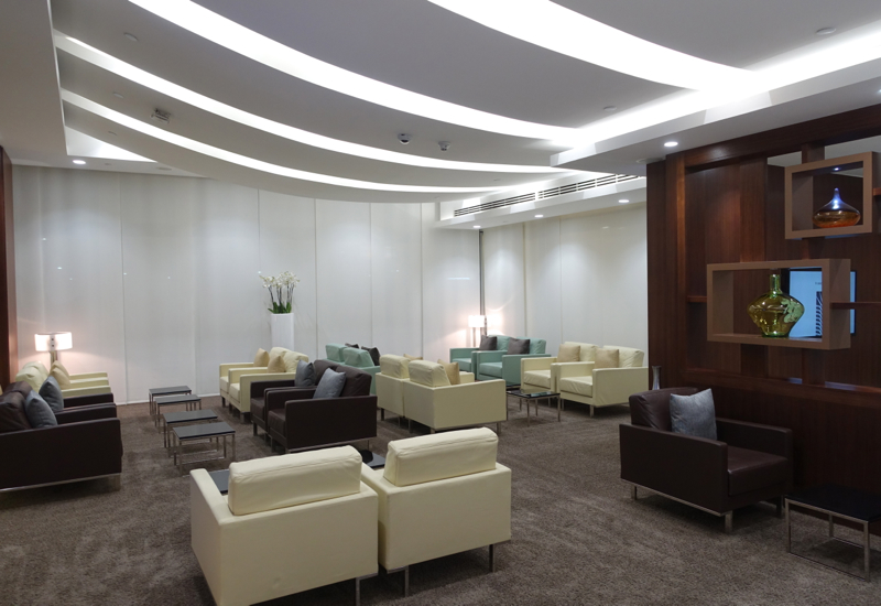 Seating, Etihad Arrivals Lounge Abu Dhabi Review