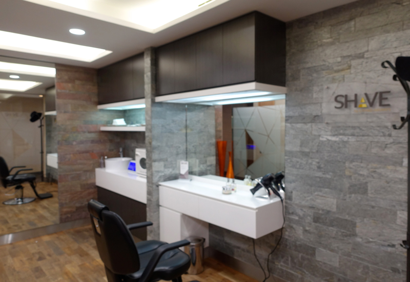 Shave Salon, Etihad Arrivals Lounge Abu Dhabi Review