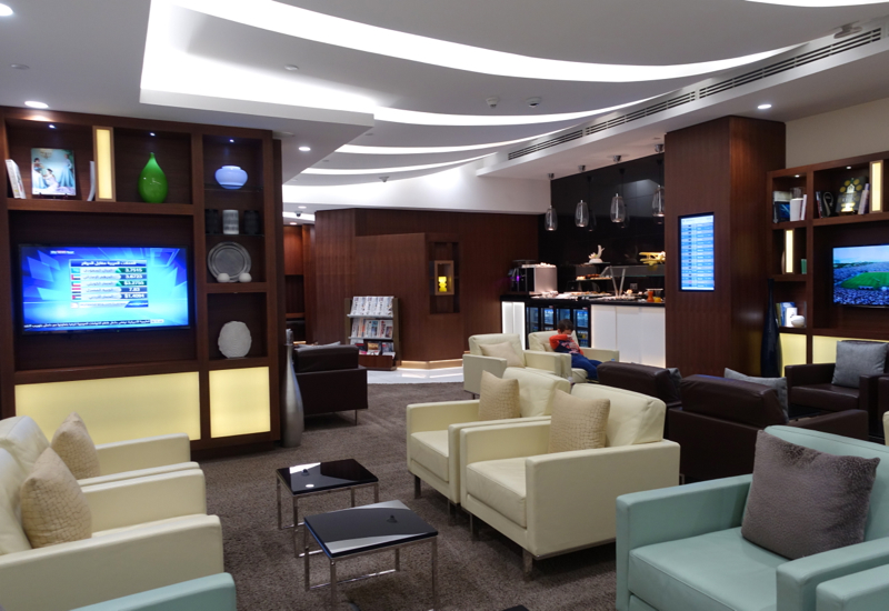 Review: Etihad Airways Arrivals Lounge Abu Dhabi