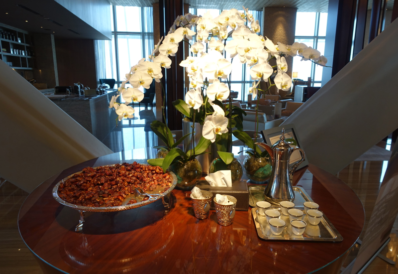 Arabic Coffee and Dates, Hyatt Capital Gate Abu Dhabi