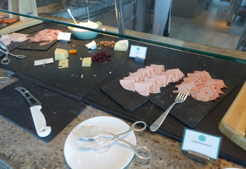 Breakfast Buffet, 18 Degrees Restaurant, Hyatt Capital Gate Abu Dhabi Review