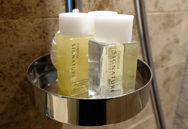 Cornelia Signature Bath Products, Hyatt Capital Gate Abu Dhabi Review
