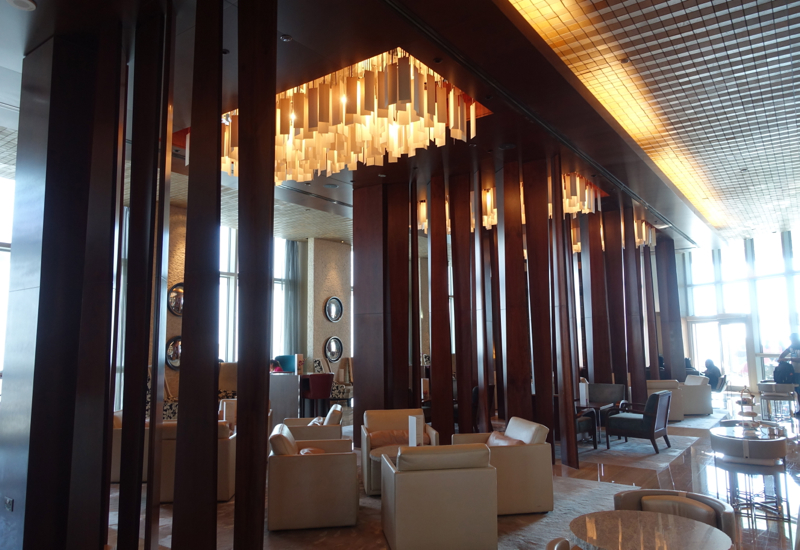Lobby Lounge, Hyatt Capital Gate Abu Dhabi Review