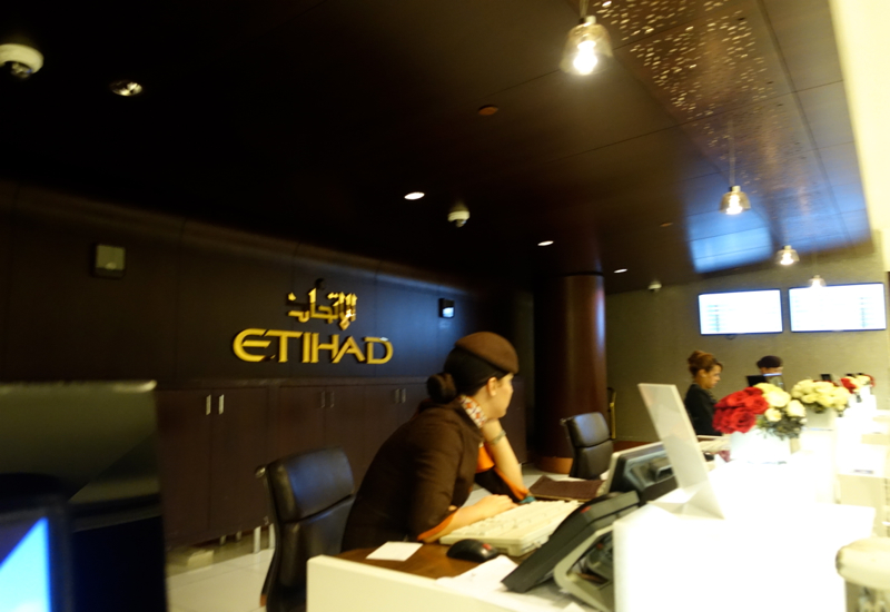 Review: Etihad Premium Lounge Abu Dhabi: First Class Check-in