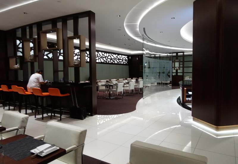 Review: Etihad Premium Lounge Abu Dhabi Terminal 3