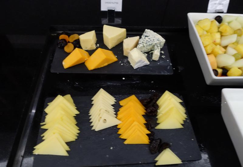 Cheese, Etihad Premium Lounge Abu Dhabi Review