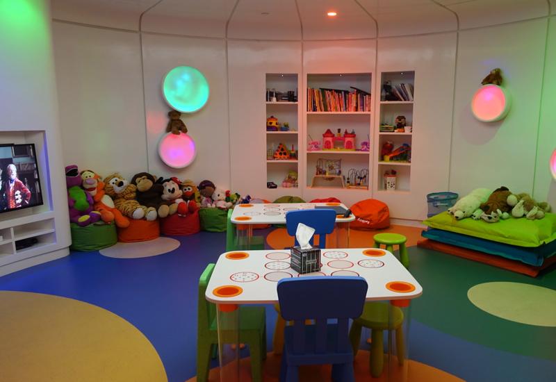 Family Room, Etihad Premium Lounge Abu Dhabi Review