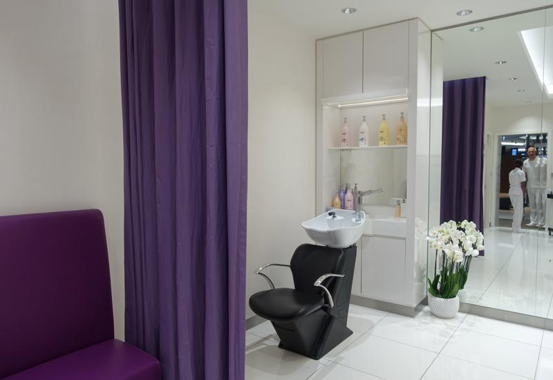 Shave Salon, Etihad Premium Lounge Abu Dhabi Review