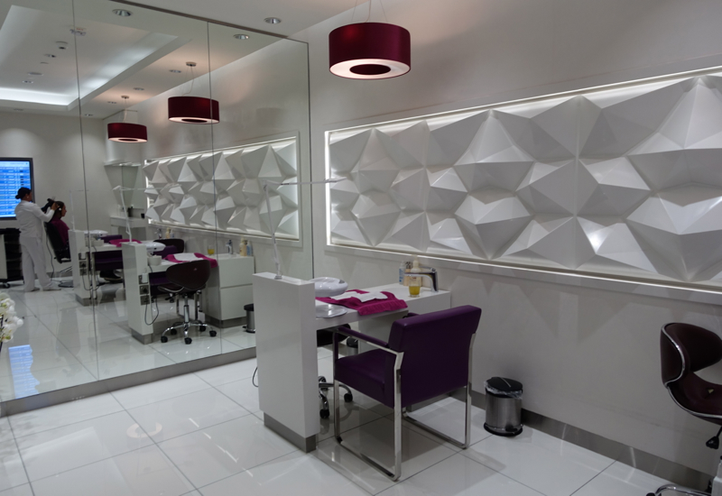 Style Salon, Etihad Premium Lounge Abu Dhabi Review