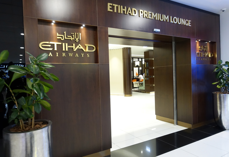 Review: Etihad Premium Lounge, Abu Dhabi