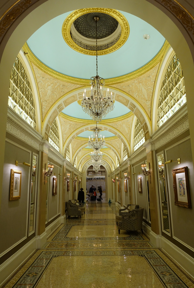 Entrance Hallway, Fairmont Copley Plaza Review