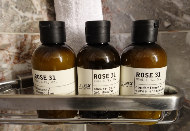 Le Labo Rose 31 Bath Products, Fairmont Copley Plaza Review
