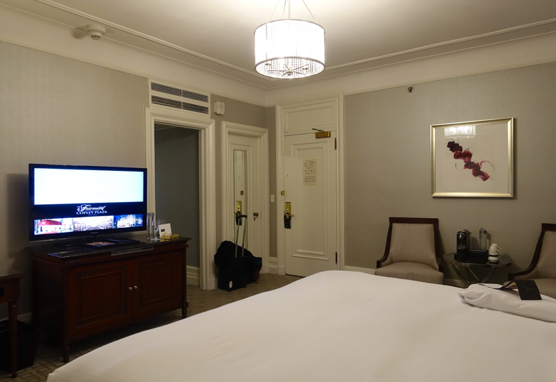 Signature Gold King Room, Fairmont Copley Plaza Review