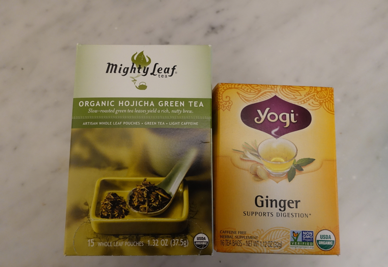 8 Foods We Pack When Traveling: Mighty Leaf Tea and Yogi Tea