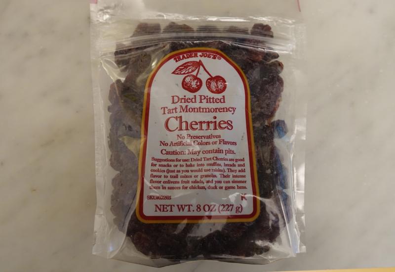 8 Foods We Pack When Traveling: Dried Cherries