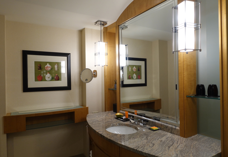 Bathroom, Mandarin Oriental Boston Review
