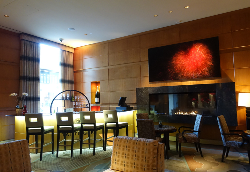 Review: Mandarin Oriental Boston Lobby