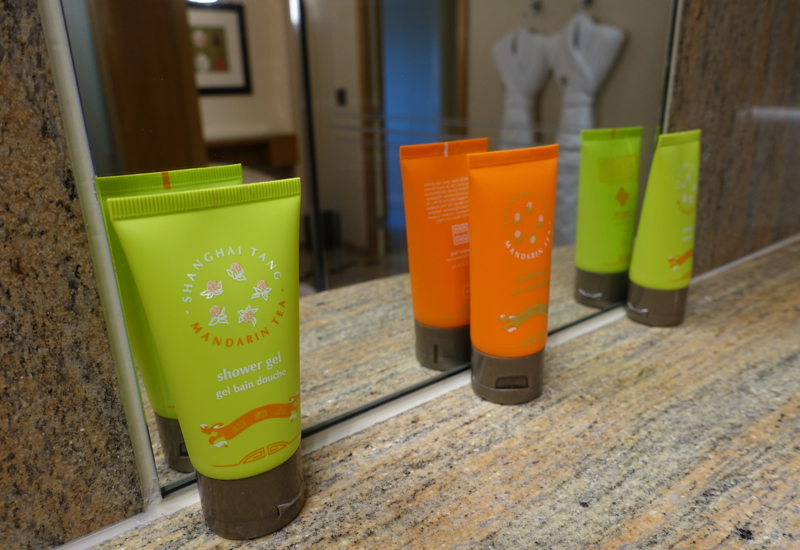 Shanghai Tang Bath Products, Mandarin Oriental Boston Review