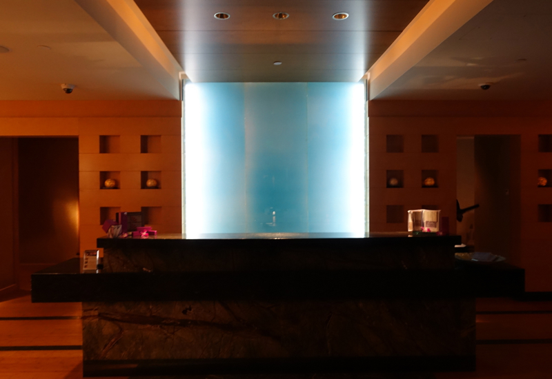 Spa Reception, Mandarin Oriental Boston Review