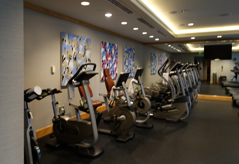 Fitness Center, Mandarin Oriental Boston Review