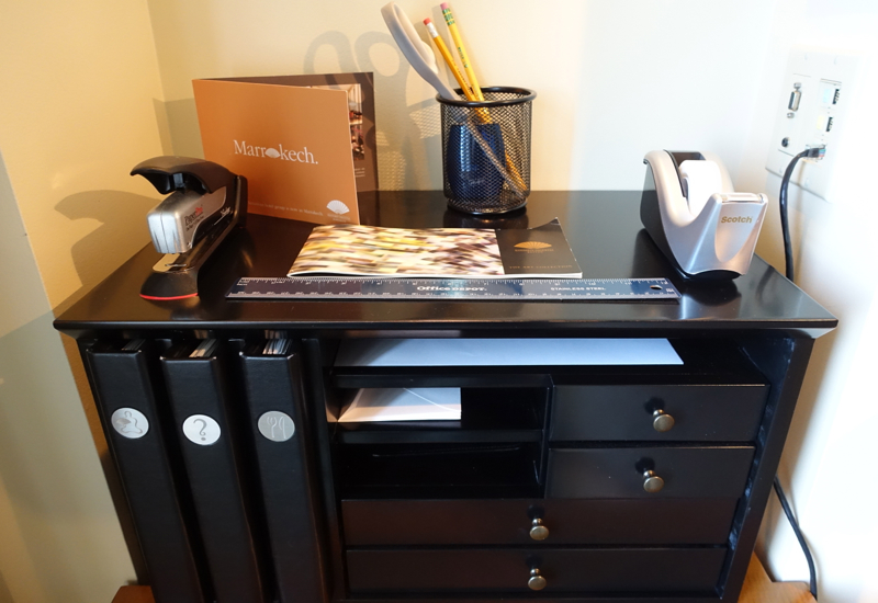 Office Supplies, Mandarin Oriental Boston Review